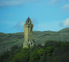 Wallace Monument, Stirling, Scotland by ElsT