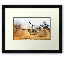 *A GAME-COUNT AND A TAKE OFF* !! Framed Print