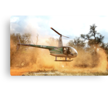 *A GAME-COUNT AND A TAKE OFF* !! Canvas Print