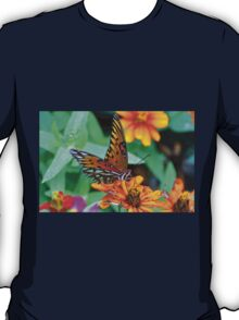 Monarch Butterfly Resting T-Shirt