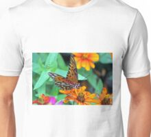 Monarch Butterfly Resting Unisex T-Shirt