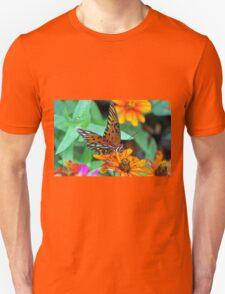 Monarch Butterfly Resting Unisex T-Shirt