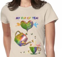 My Cup of Tea Womens Fitted T-Shirt