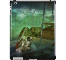 Catch the winds of destiny wherever they drive the boat iPad Case/Skin