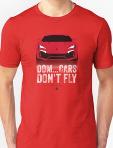 Cinema Obscura Series - The Fast & the Furious - Cars Don't Fly T-Shirt