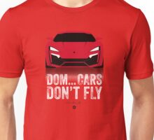 Cinema Obscura Series - The Fast & the Furious - Cars Don't Fly Unisex T-Shirt