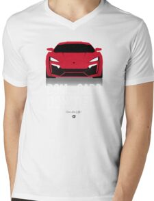 Cinema Obscura Series - The Fast & the Furious - Cars Don't Fly Mens V-Neck T-Shirt