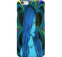 Blue Contemplation iPhone Case/Skin
