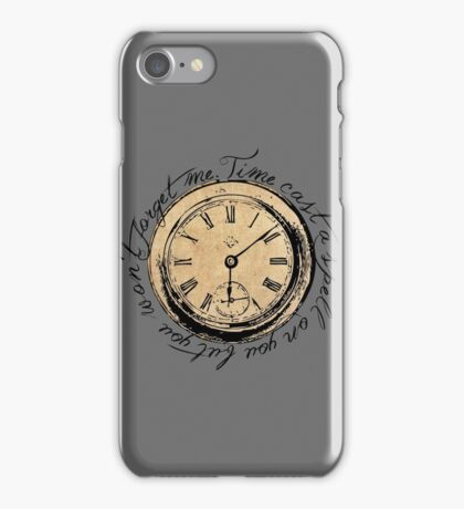 Time Cast A Spell On You iPhone Case/Skin