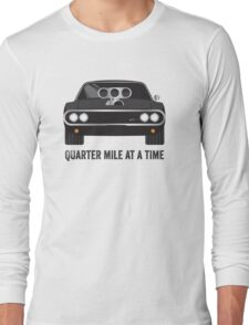Cinema Obscura Series - The Fast & the Furious - Quarter Mile Long Sleeve T-Shirt