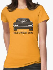 Cinema Obscura Series - The Fast & the Furious - Quarter Mile Womens Fitted T-Shirt