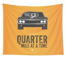 Cinema Obscura Series - The Fast & the Furious - Quarter Mile Wall Tapestry