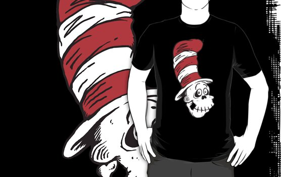 Cat in The Hat (I do not like it with the skin - I much prefer the skull within) by ZugArt