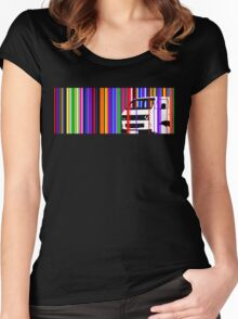 T25 Stripes Women's Fitted Scoop T-Shirt