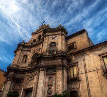 La chiesa di San Placido by Andrea Rapisarda