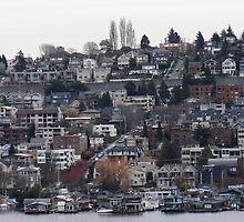 Jasper Johns in Seattle by Honario