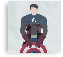 Captain America (Simplistic) Canvas Print
