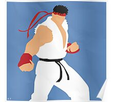 Ryu (Simplistic) Poster