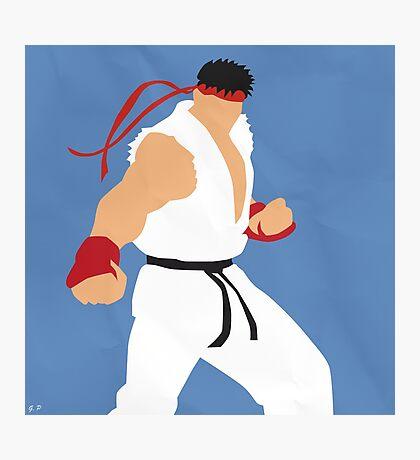 Ryu (Simplistic) Photographic Print