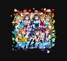 μ's (KiRa KiRa Sensation camo edit.) Unisex T-Shirt