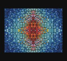 Inner Light - Abstract Art By Sharon Cummings Baby Tee