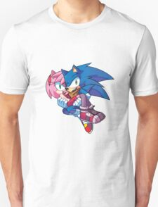 Sonic Boom - Sonic & Amy Rose T-Shirt