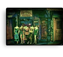 Mystique Boutique Canvas Print