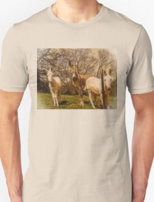 """Three of the Finest Set to Run the Redneck Kentucky Derby""... prints and products Unisex T-Shirt"