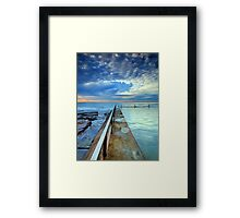 Dream Clouds, Cronulla NSW Framed Print