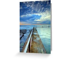 Dream Clouds, Cronulla NSW Greeting Card