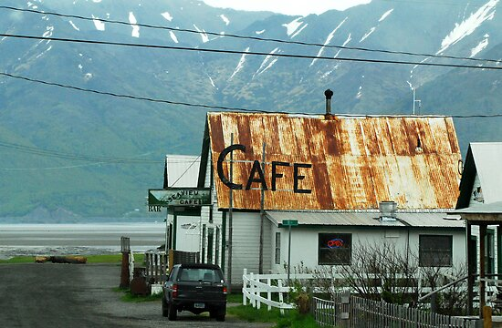 End of the Road - HOPE in Alaska by Barbara Burkhardt