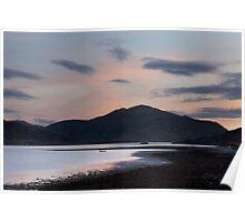 Loch Duich Sunset Poster