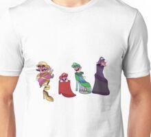 Mario Bros. Fancy Shoes Unisex T-Shirt