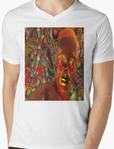 Psychedelic Mind Mens V-Neck T-Shirt
