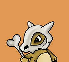Cubone Pokemon by Claire Hawken