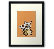 Cubone Pokemon Framed Print