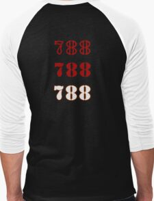 H.I.S.S. Numbers Men's Baseball ¾ T-Shirt