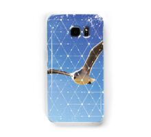 Nature and Geometry - The Seagull Samsung Galaxy Case/Skin