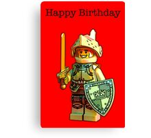 Happy Birthday! Canvas Print