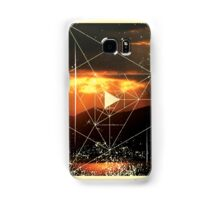 Nature and Geometry - Sunset and Mountains Samsung Galaxy Case/Skin