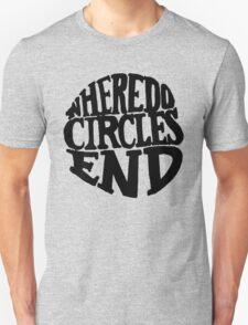 Where Do Circles End T-Shirt