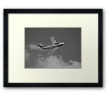 US Air Force Jet Framed Print
