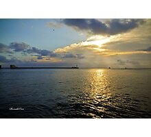 Valletta Breakwater Photographic Print