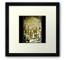 Moroccan Alley 1987 Framed Print
