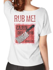 Mangia 'Rub Me' Women's Relaxed Fit T-Shirt