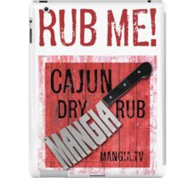 Mangia 'Rub Me' iPad Case/Skin
