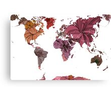Flower world Canvas Print