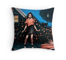 Pink Magic Throw Pillow