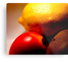 What the hell is a tamarillo anyway? Metal Print