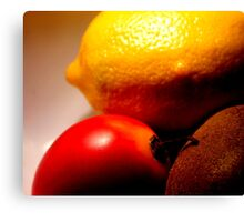What the hell is a tamarillo anyway? Canvas Print